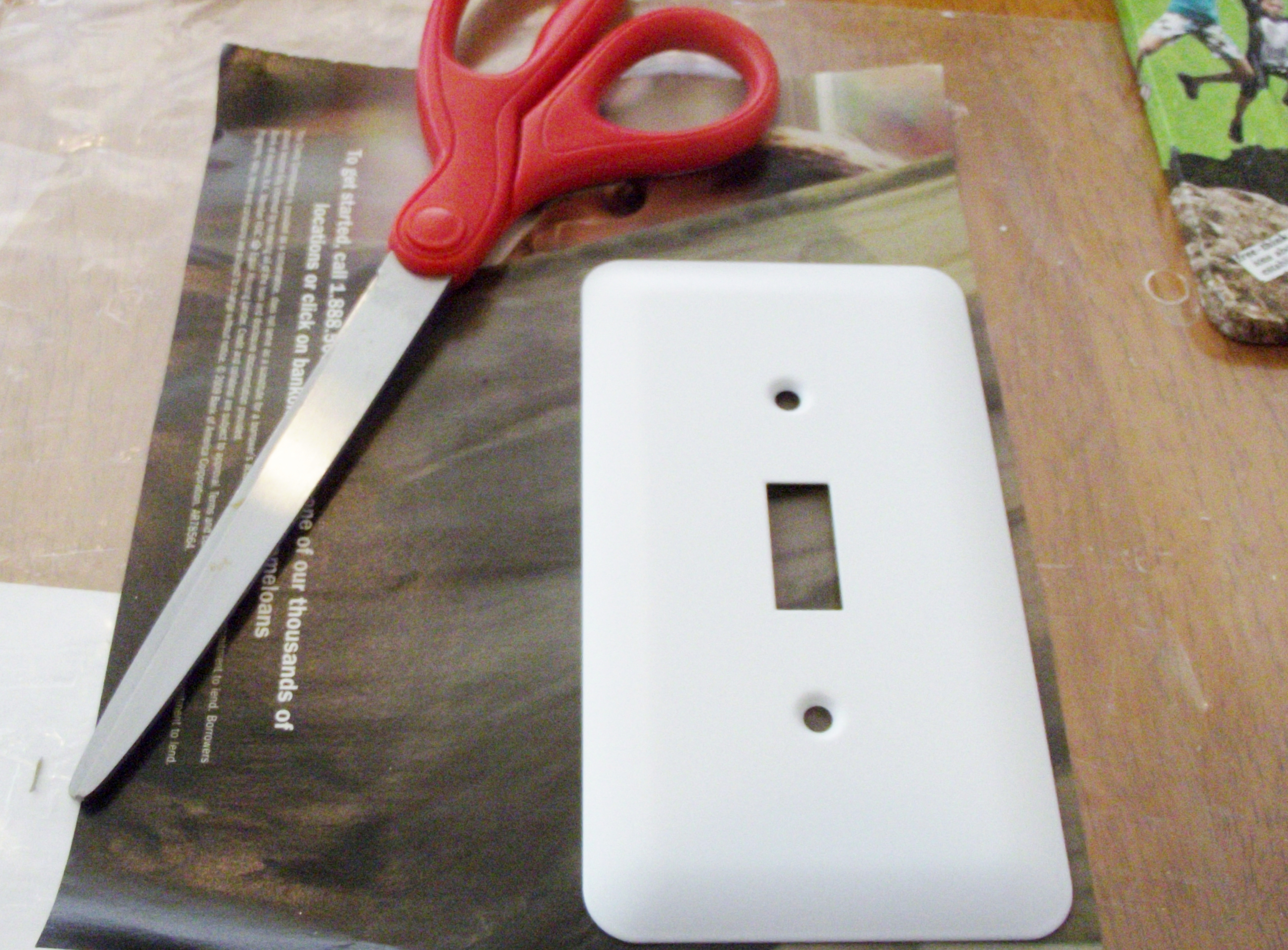 Making The Coolest Recycled Light Switch Plate Covers Tutorial Our