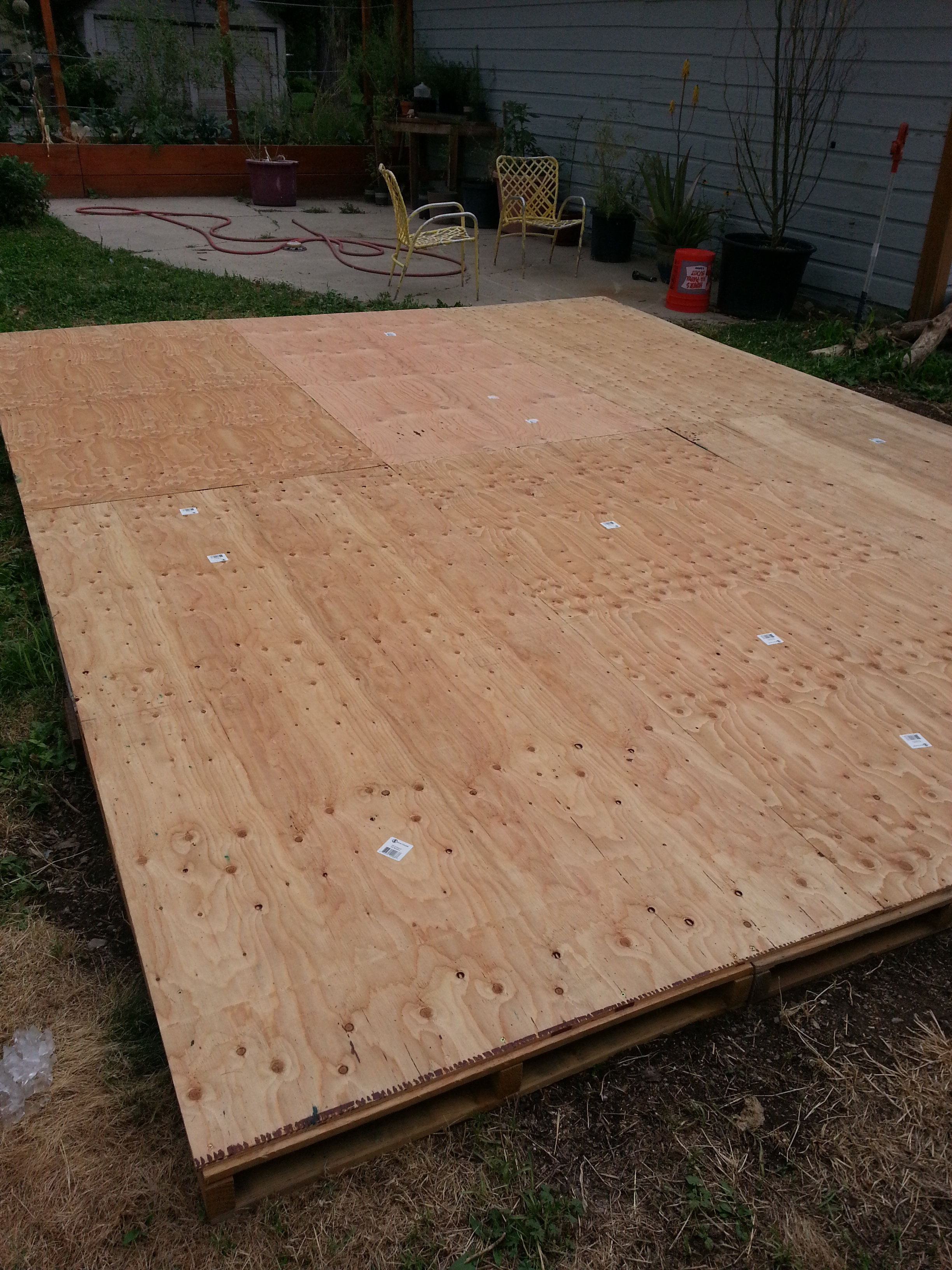 Creating A Dance Floor From Recycled Pallets Our